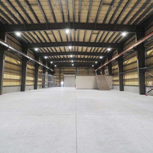 2020年度1月北海道、宮城、他東北5県の工場・倉庫(鉄骨造)建築着工面積